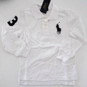 NWT Ralph Lauren Long Sleeve Big Pony Polo Shirt